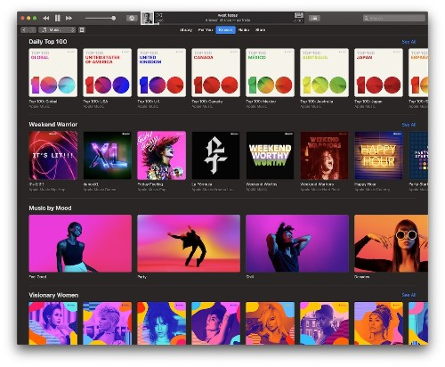 Apple Music Updates 'Browse' Tab With New Themed Sections