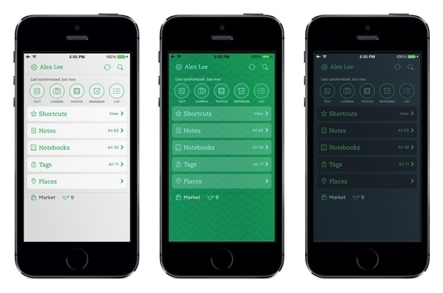 Evernote for iOS Updated With New Customization Options, Speed Improvements