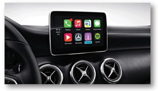 Mercedes-Benz Shares Full Lineup of 2016 U.S. CarPlay Vehicles