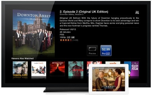 Analyst Claims 60-Inch 'iTV' Could Launch in Late 2013 With 'iRing' Motion Control and iPad-Like Auxiliary Screens