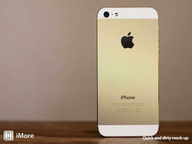 Claims of 'Champagne' Color Option for iPhone 5S Continue to Mount