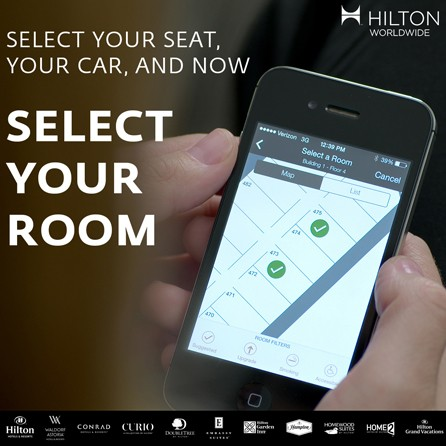 Hilton to Adopt Digital Check-In, Smartphone-Based Room Keys Worldwide