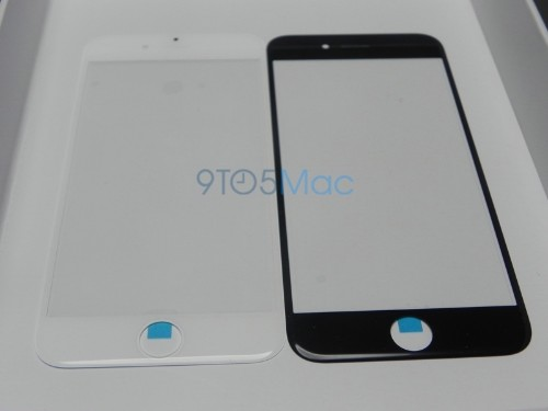 Possible 4.7-Inch iPhone 6 Front Panel Compared to iPhone 5s