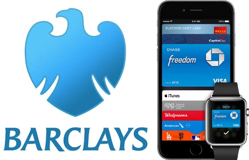 Barclays Anticipating 'Imminent' Support for Apple Pay in United Kingdom