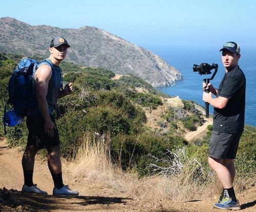 Trio of Friends Make Challenging Hike Across Catalina Island to Recreate the macOS Catalina Wallpaper