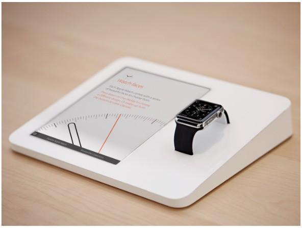 Photos Reveal Secrets Behind Apple Watch Retail Display Units