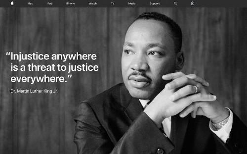 Apple and Tim Cook Commemorate Dr. Martin Luther King, Jr.