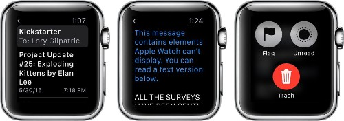 How to Use the Mail App on Apple Watch