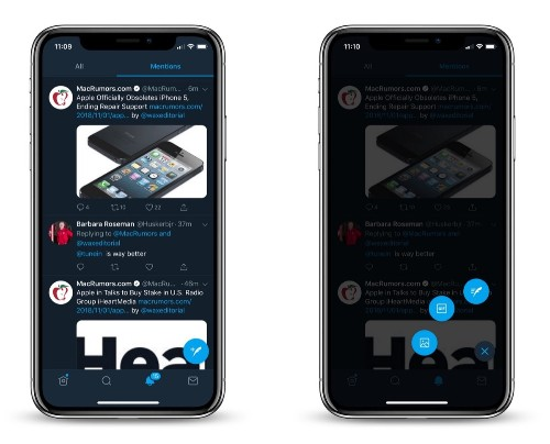 Twitter Adds Floating Compose Button and Tests Option to Switch Between Latest and Top Tweets