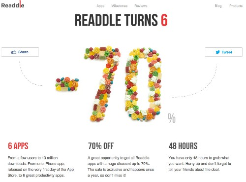 Readdle Offering Up to 70% Discount Off iOS Apps