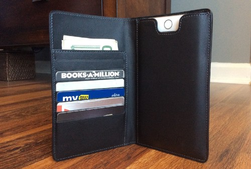 Review: Stylish Danny P. Leather Wallet Holds iPhone 6/6s Plus, Cards and Cash
