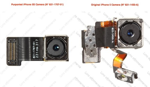 Photo Depicting iPhone 5S Camera Module Hints at Separate Dual-LED Flash Component