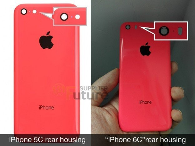 Leaked Images Provide First Look at Purported Rear Shell of 'iPhone 6c'