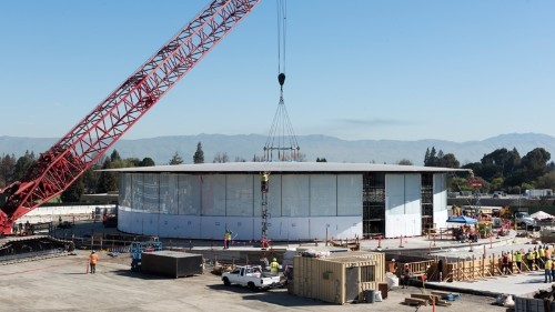 Apple Campus 2 'Theatre' Features Largest Freestanding Carbon-Fiber Roof Ever Made