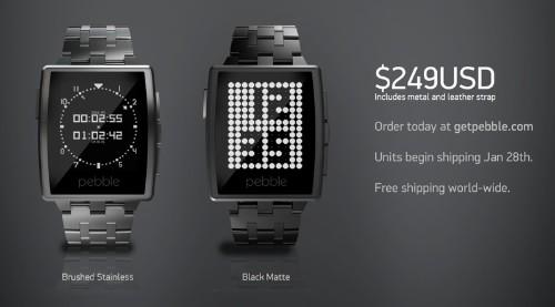 Pebble Announces Next-Generation $249 'Pebble Steel' Smart Watch