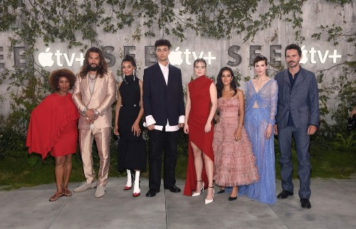 Apple's Futuristic Thriller 'See' Premieres in California Ahead of Apple TV+ Launch