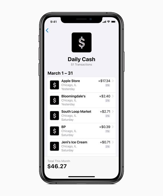 Apple Card Extending 3% Daily Cash to More Merchants, Starting With Uber and Uber Eats