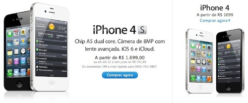 Apple Slashes Prices on iPhone 4/4S by 15-25% in Brazil