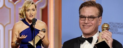 Kate Winslet & Aaron Sorkin Win for 'Steve Jobs' at Golden Globes