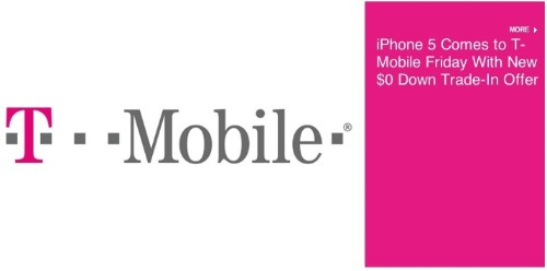 T-Mobile USA Announces Trade-In Offer for Existing iPhone Owners Ahead of iPhone 5 Launch