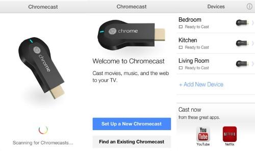 Google Releases Chromecast App for iOS