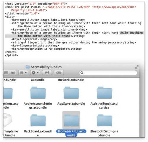 iOS 7 Beta 4 Code Points to Home Button Fingerprint Sensor for iPhone 5S