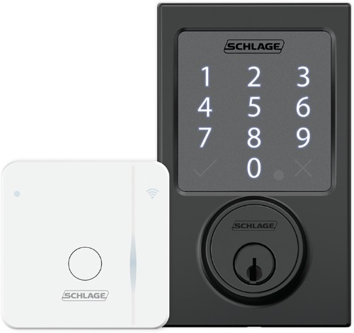 Schlage Sense Smart Deadbolt Now Remotely Controllable With Wi-Fi Adapter