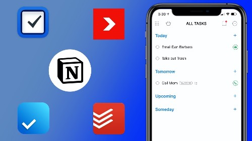 Five of the Best To-Do Apps for iOS