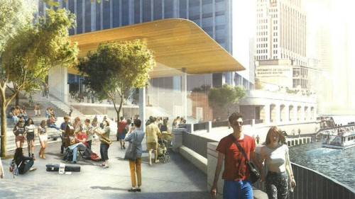 Renderings Show Off Apple's New Retail Store Alongside Chicago River