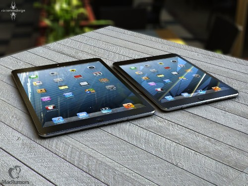 More Efficient LED Backlighting May Lead to Thinner, Lighter iPad 5