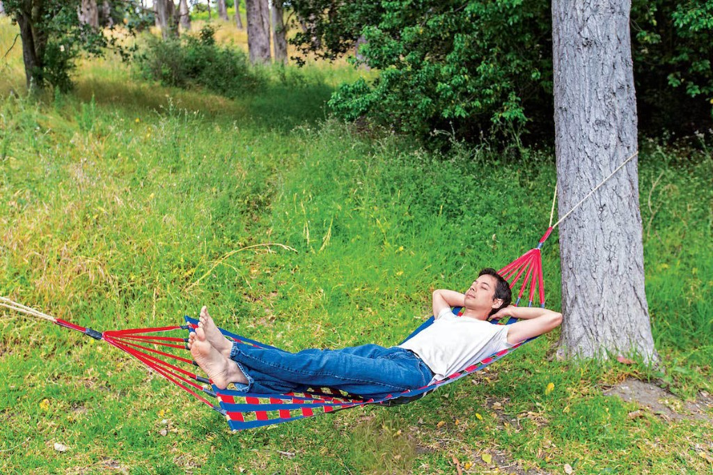 Stick Together a Durable Duct Tape Hammock | Make: