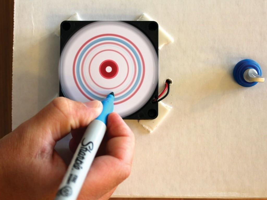 Mini Spin Art Machine | Make: