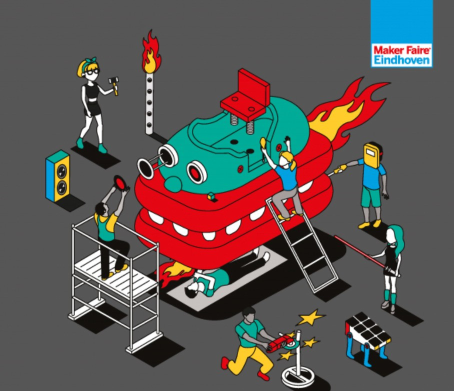 Coming Up This Weekend: Maker Faire Eindhoven 2020 and the New Reality | Make:
