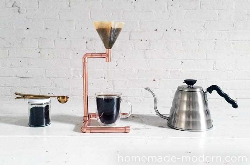 DIY Copper Pipe Coffee Maker | Make: