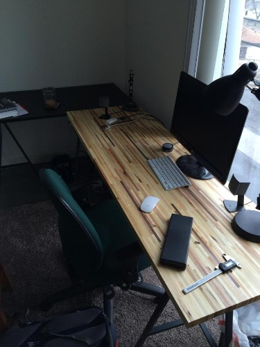 Scrap To Swank: Turn Pallets Into A Beautiful Desk | Make: