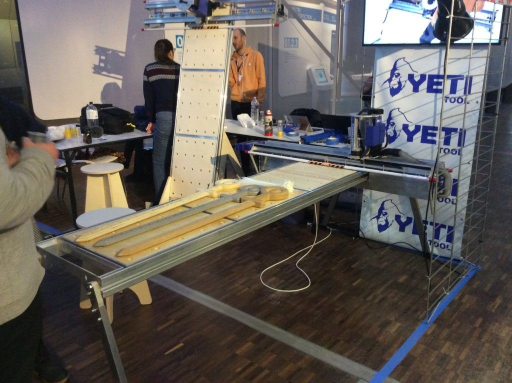 The Yeti Smart Bench Is a Full-Sheet CNC Router That Assembles in 5 Minutes | Make: