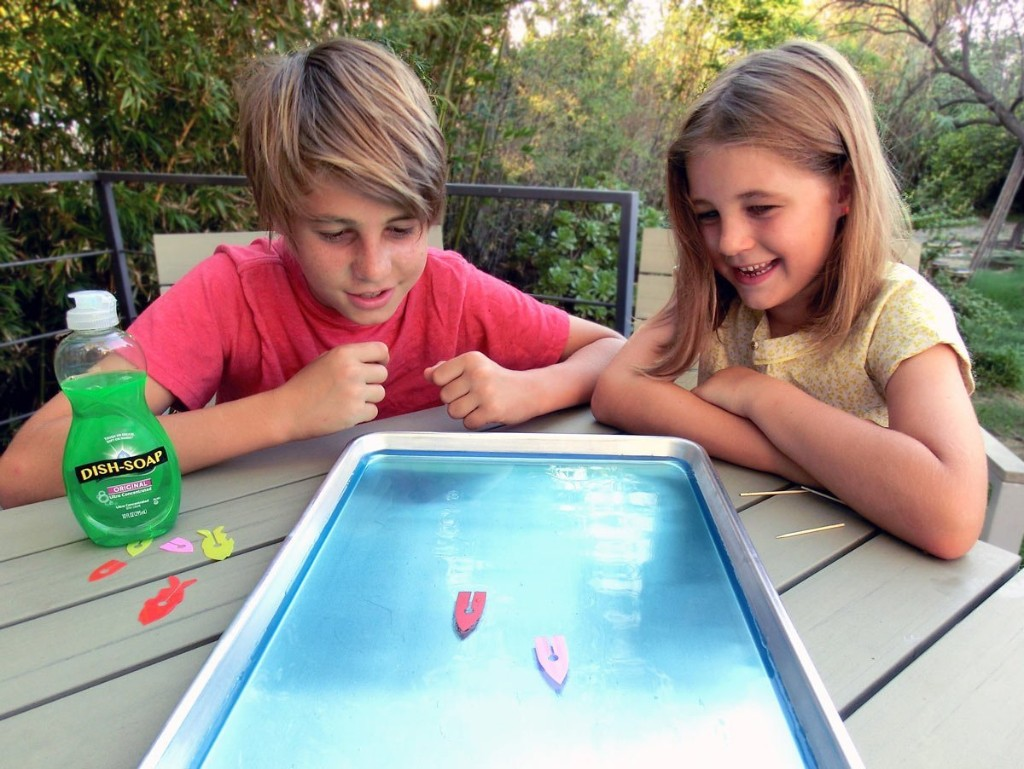Toy Inventor's Notebook: Make a Miraculous Marangoni Soap Boat   Make: