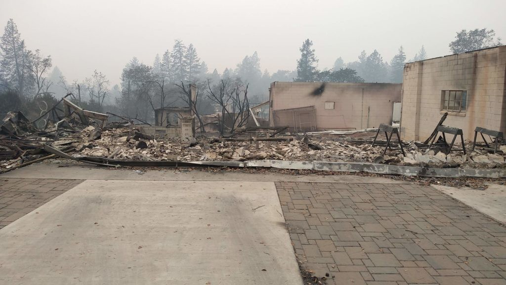 Losing a Makerspace in the Paradise Wildfire | Make: