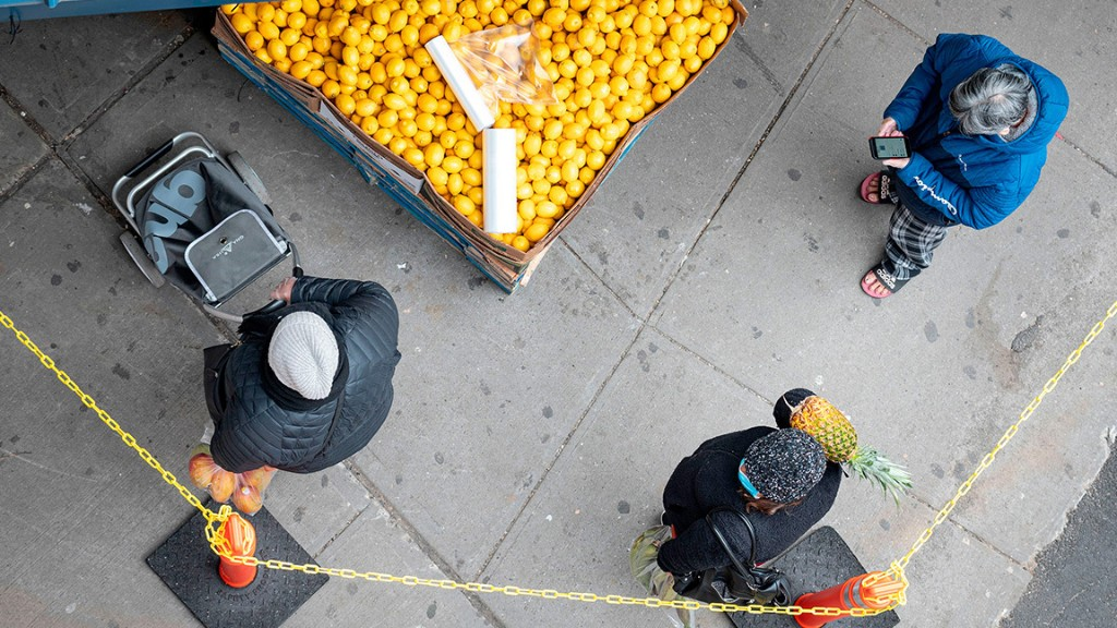 Grocers are scrambling to face another pandemic panic