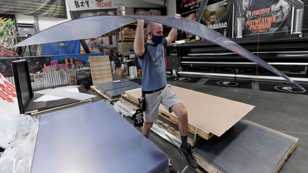 What will manufacturing look like as companies start to reopen? - Marketplace