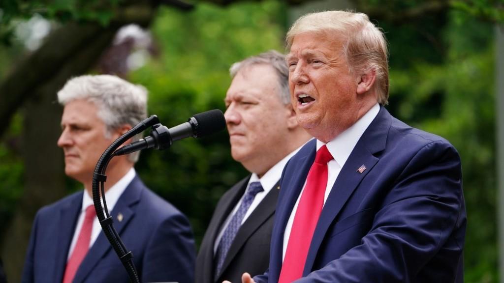 Trump terminates WHO funding, Hong Kong trade status - Marketplace