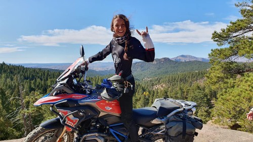 Millennial women fired up about motorcycles