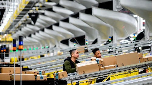 Amazon is weighing down the social safety net