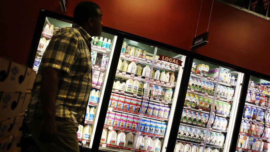 Demand for milk is down amid shelter-at-home orders - Marketplace