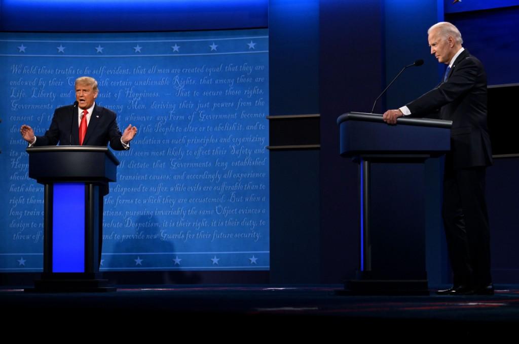 Trump and Biden address the minimum wage, tariffs and unemployment during final debate - Marketplace