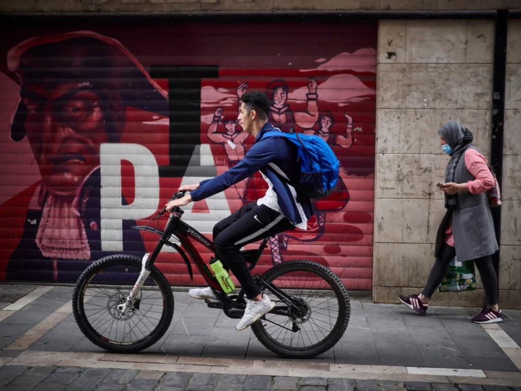Biking to work aids social distancing - Marketplace