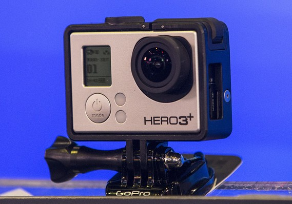 GoPro leads holiday sales of cameras on Amazon