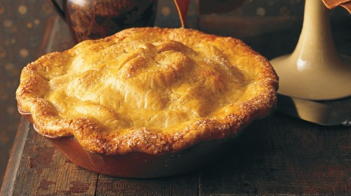 Easy Old-Fashioned Apple Pie