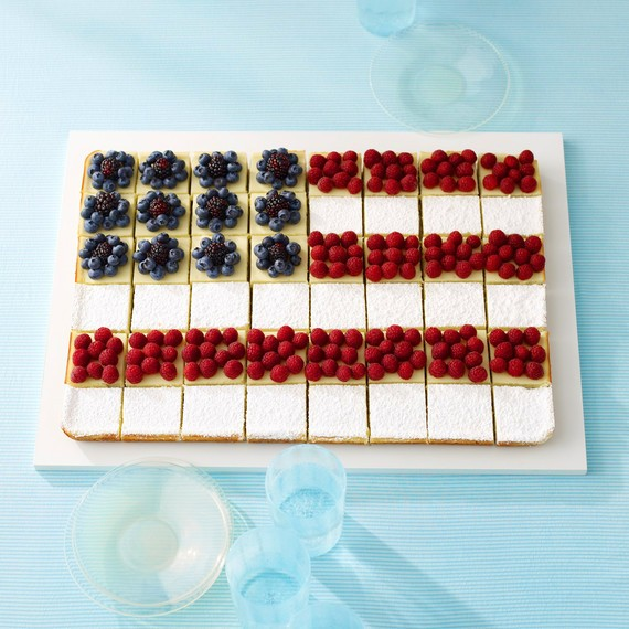 Seven Flag-Shaped Foods to Make for the Fourth of July