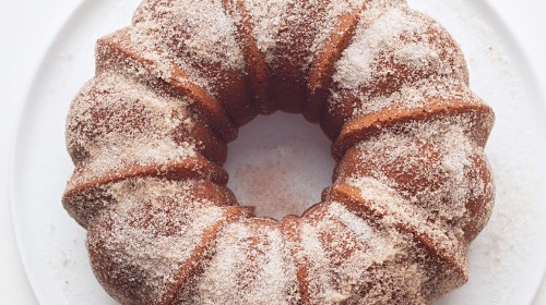 Apple-Cider Doughnut Cake